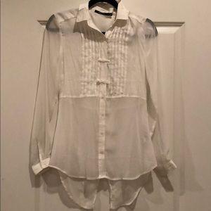 Doe & Rae bow blouse
